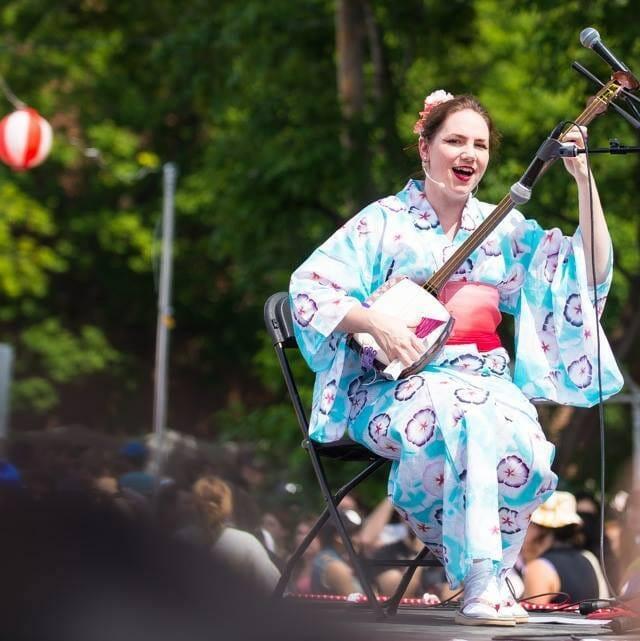 Performance avec Komachi Montréal - Matsuri Japon 2015